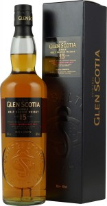 Glen Scotia  Single Malt Scotch Whisky 15-letnia