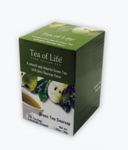 Tea of Life Green Tea Soursop 20t