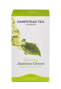 Hampstead Tea Dremy Jasmine Green Organic 20tb