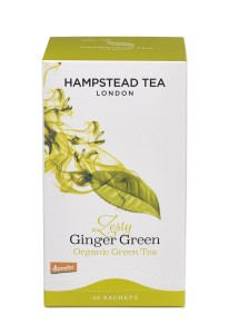 Hampstead Tea Zesty Ginger Green Organinc 20tb