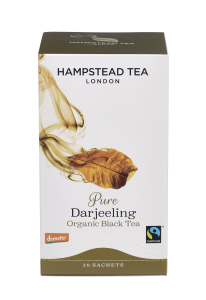 Hampstead Tea Pure Darjeeling Black Tea Organic 20tb