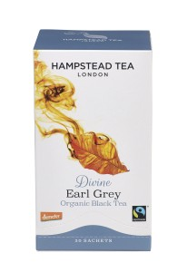 Hampstead Tea Divine Earl Grey Black Tea Organic 20tb