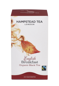 Hampstead English Breakfast Black Tea Organic 20tb