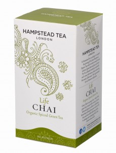 Hampstead Life Chai Spiced Green Tea Organic 20tb