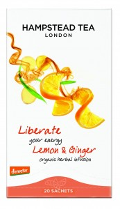 Hampstead Liberate - Lemon&Ginger Infusion Organic 20tb