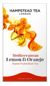 Hampstead Mediterranean Lemon&Orange Black Tea Organic 20tb