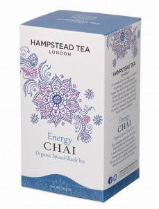 Hampstead Energy Chai Spiced Black Tea Organic 20tb