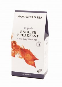Hampstead English Breakfast Black Tea Organicherbata liściasta 100 g