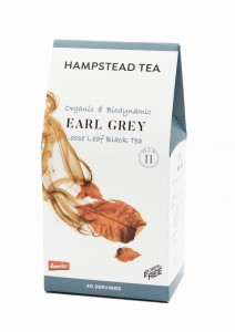 Hampstead Tea Earl Grey Black Tea Organic herbata liściasta 100g