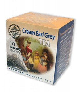 Mlesna herbata Cream Earl Grey 10 piramidek