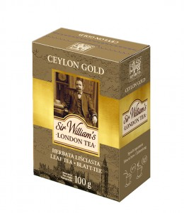 Sir William's London  Tea Ceylon Gold czarna herbata cejlońska liściasta 100g