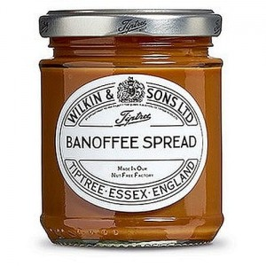 Wilkin&Sons Banoffee spread  banan+ toffee 210g